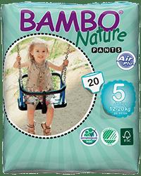 Bambo Pants: nová generácia navliekacích detských plienok
