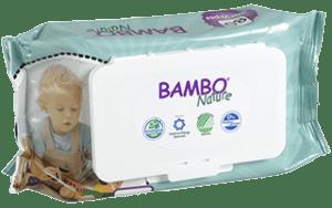 Vlhčené utierky Bambo 659720