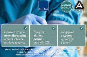 Antimikrobiálne rukavice Abena
