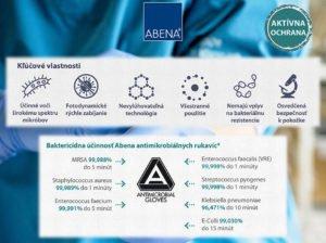 Antimikrobiálne rukavice Abena 2