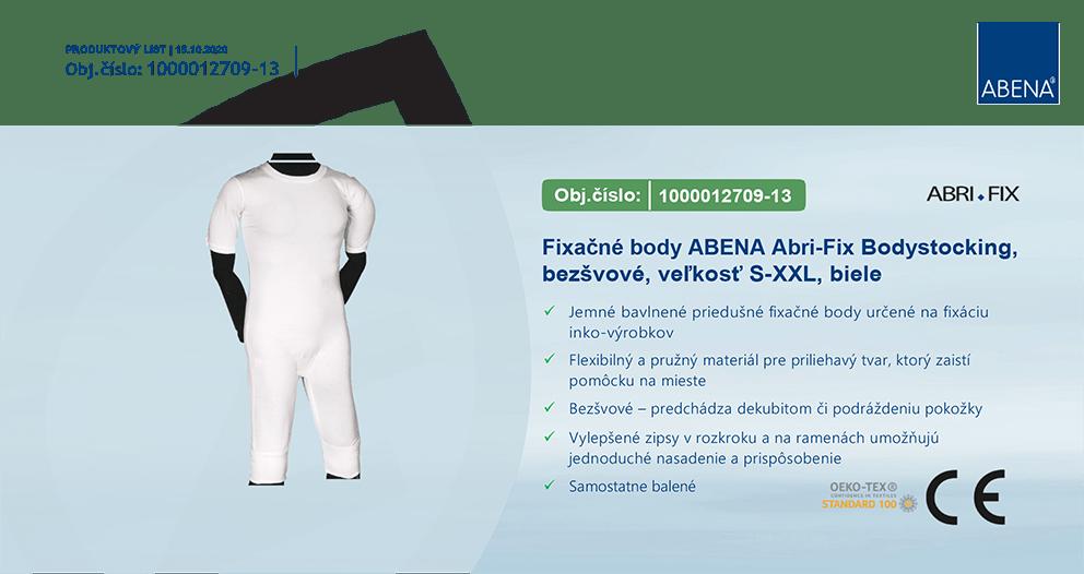 Modernizované fixačné body Abri Fix Bodystocking