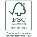 FSC certifikovaná buničina