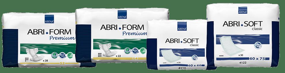 Zvýšenie počtu kusov Abri Form Premium S2, S4 a zníženie cien vybraných podložiek Abri Soft